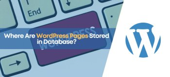 where wordpress pages stored